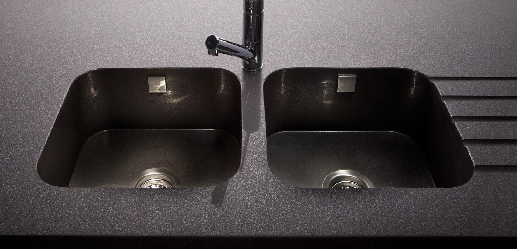 Plans de travail pour cuisine et salle de bains silgranit33 - Evier integre plan de travail ...
