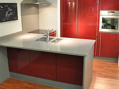 Plans de travail pour cuisine et salle de bains silgranit33 - Plan de travail avec retour ...