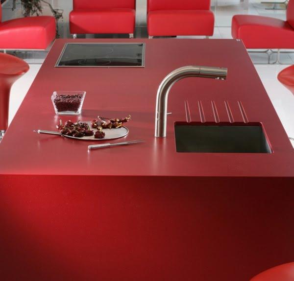 plan de travail pour cuisine ou salle de bains en silestone. Black Bedroom Furniture Sets. Home Design Ideas